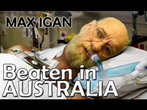 Max Igan Assaulted - Beaten Badly By Israelis In Australia