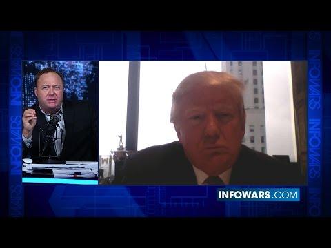 Alex Jones & Donald Trump [Full Interview]