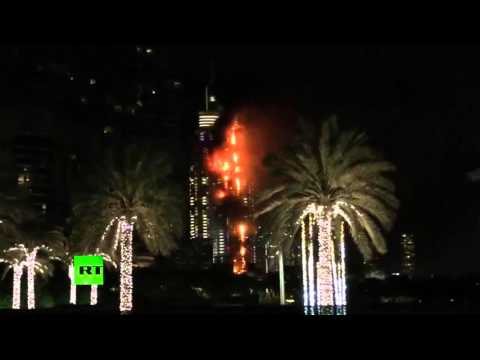 Dubai Hotel on fire: Should Collapse Soon