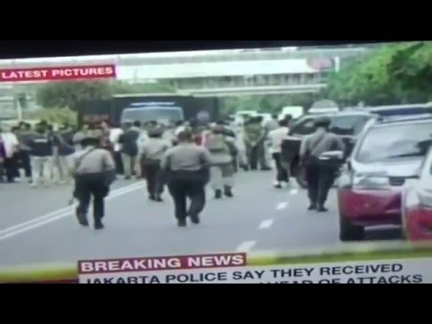 Media Alerted Before Jakarta Bombing