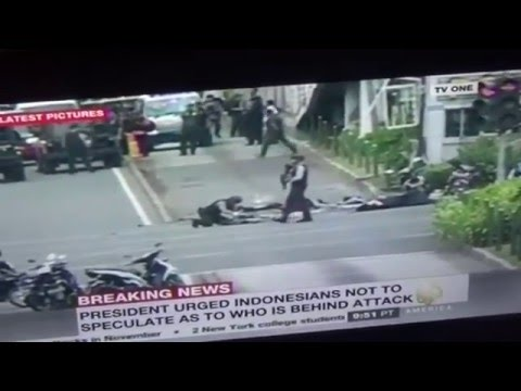 CIA Mossad Stage Jakarta Bombings Blame ISIS
