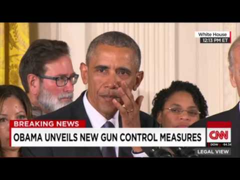 Obama Cries Crocodile Tears AGAIN! Emotional Appeal to Bamboozle America into Accepting Gun Control