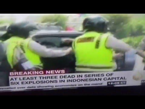 Staged False Flag Jakarta Drill