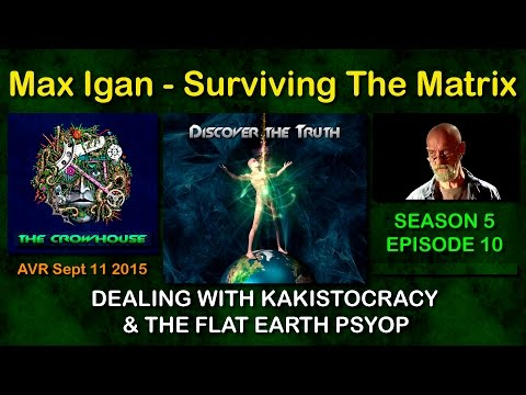 Max Igan - Dealing with Kakistocracy & the Flat Earth PSYOP (full show) September 11 2015
