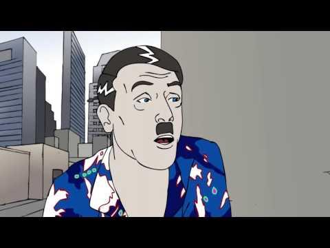 Hitler enriches Israel - PARODY- (Anti-racist Hitler)