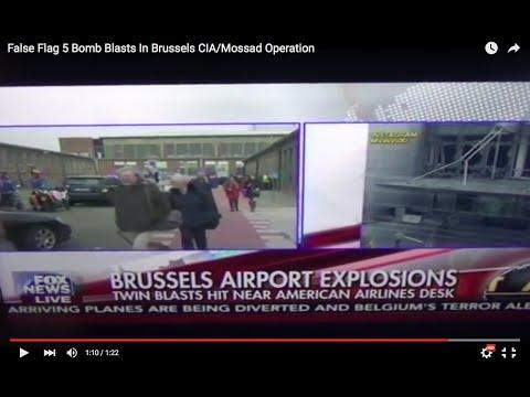 False Flag Attacks In Brussels CIA/Mossad Operation