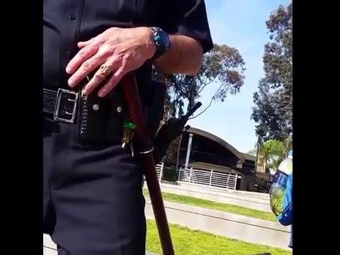 EPIC Video: Cop Backs Down After BMX Biker Lays Down the Law