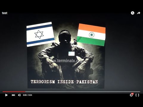 Mossad CIA & RAW Bomb Pakistan Easter False Flag