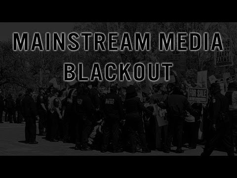 Complete MSM Blackout as Americans Protest Their Fake Presidential Election Process