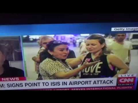 Staged Istanbul Airport Attack