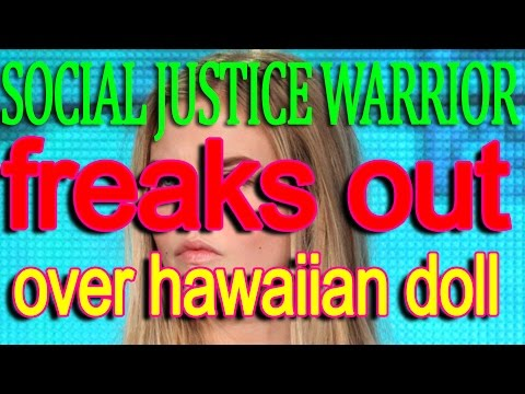 SJW Flips out over Hawaiian Doll in Lyft car WOW lmao