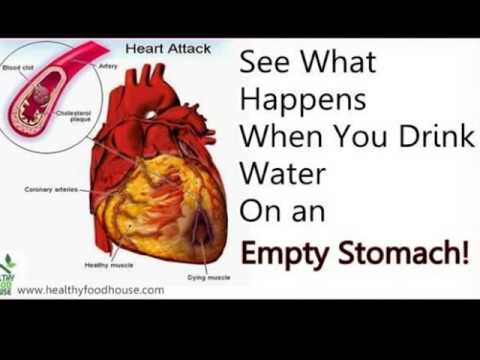 See what happens when you drink water immediately on empty stomach after waking up