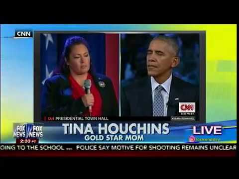 Obama Lectures a Gold Star Mother on Using Politically Correct Terms