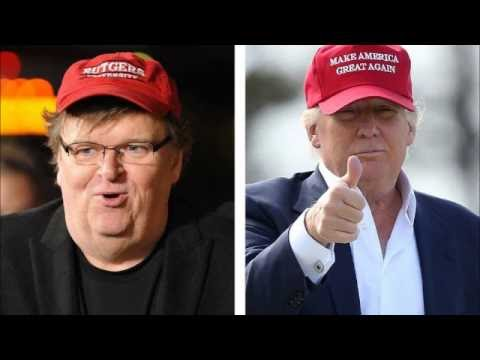 """Trump's election will be the biggest """"F—ck You"""" in human history - Michael Moore"""