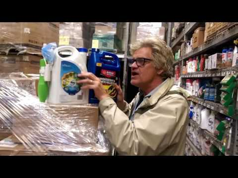 Rev. Billy Confronts Monsanto's Poisons at Home Depot