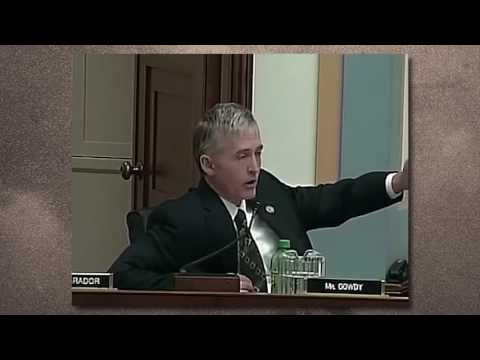 Trey Gowdy lays bare another narrative peddled by President Obama