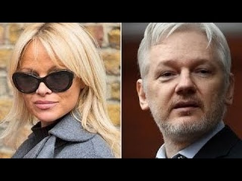 Is WikiLeaks Founder Julian Assange Dead The WEIRD Connection with Pamela Anderson !