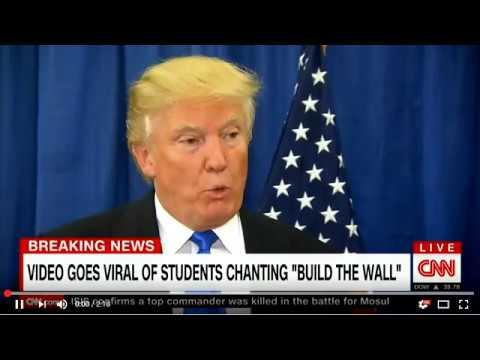 Puppet Trumps $10 Billion Wall - CIA/CNN Propaganda