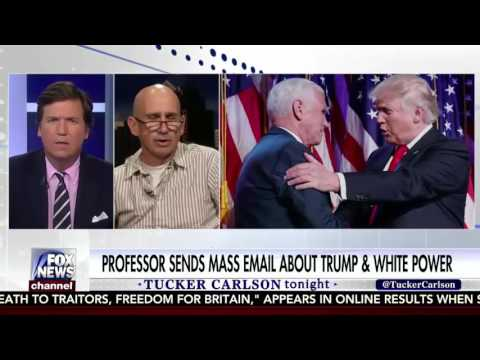 Tucker Carlson DESTROYS Coll Professor Tony Macula Who Claims Trump Legitimized White Power Movement