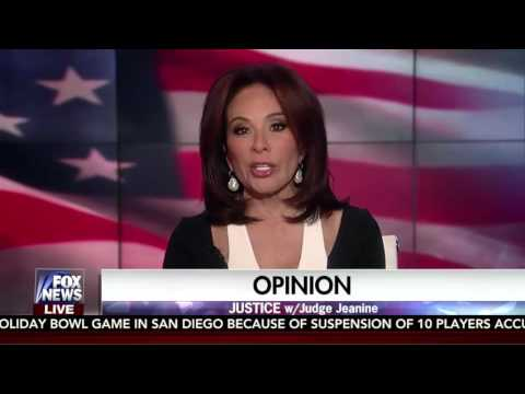 Judge Jeanine Pirro RIPS Michelle Obama In Opening Statement 12/17/16
