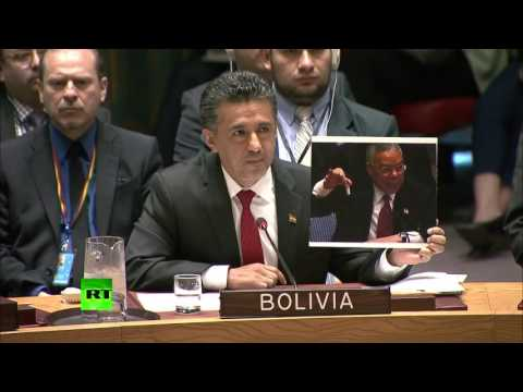 US said it had proof of WMDs, 1mn people died - Bolivia envoy at UNSC meeting on Syria strike