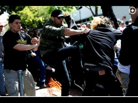 "Brawls Erupt At Trump Rally In Berkeley ""WAR ON FREE SPEECH"""