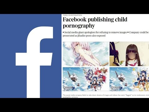 UK Govt: Facebook Leaves Pedophile Content Up After Being Notified