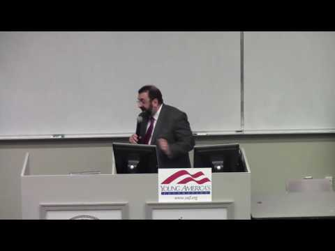 "Jihad Threat or ""Islamophobia""? Robert Spencer at Truman State University"