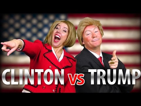 TRUMP vs HILLARY - Rap News 36 (Special Edition!)