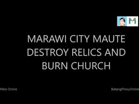 Religion of Peace and Tolerance - Maravi City - Burn Church and Destroy Relics