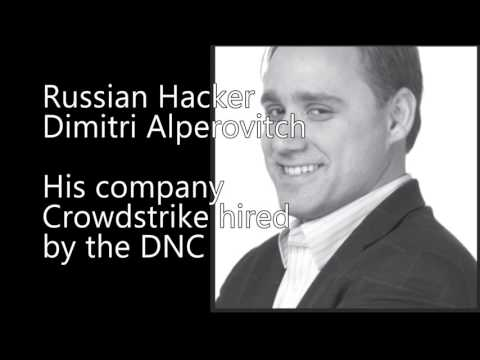 DNC paid the 'Russian' founder of CrowdStrike to hack its server so it could be blamed on Russia!