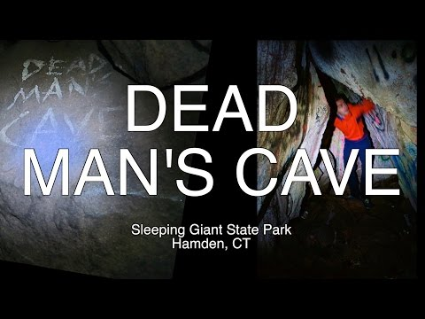 Dead Man's Cave : Sleeping Giant State Park