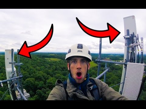 Cell Phone Carriers Do NOT Want You To See This! - Cell Towers Exposed!
