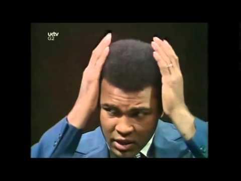 Muhammad Ali Attacks Anti-White BBC Parkinson