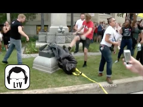 STAGED: Confederate Statue Takedown in Durham, NC | Lift the Veil