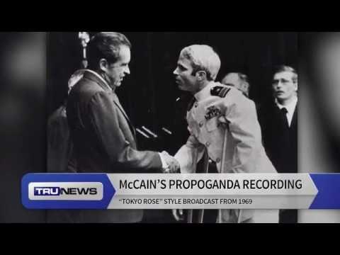 "John McCain's 1969 ""Tokyo Rose"" Propaganda Recording Released"
