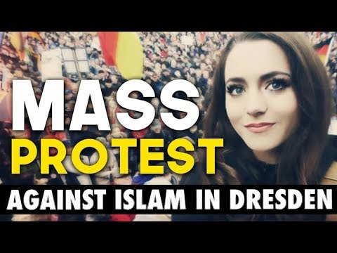 Anti-Islam Demonstration In Germany