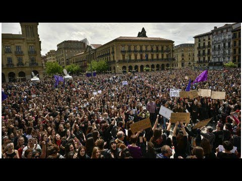 Tens of thousands protest in Spain over gang rape acquittal