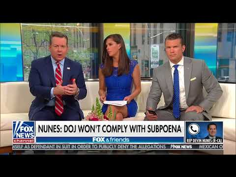 DEVIN NUNES FULL ONE-ON-ONE INTERVIEW ON FOX & FRIENDS | FOX NEWS (5/6/2018)
