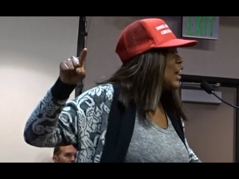 BLACK AMERICANS SPEAK OUT AGAINST THE CALIFORNIA SANCTUARY STATE. SANTA CLARITA.
