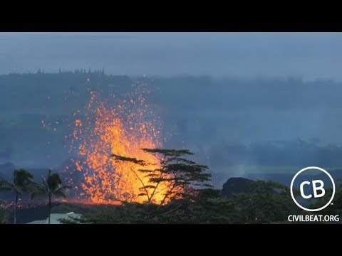 - 5/19 ARCHIVE HD Cam - Live Video: Kilauea Lava Flow Activity In Lower Puna