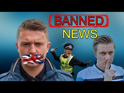 Britain Makes it ILLEGAL To Report On Tommy Robinson In Prison