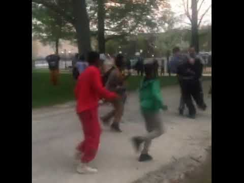 WATCH VIDEO: Gang of Muslim migrant kids attack park goers in Lewiston, Maine