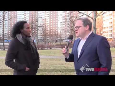 Ex Somalian Muslim woman living in Sweden interviewed by rebel media