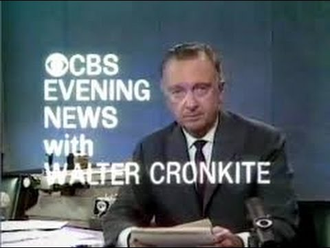 Walter Cronkite is Proud to Sit at Right Hand of Satan