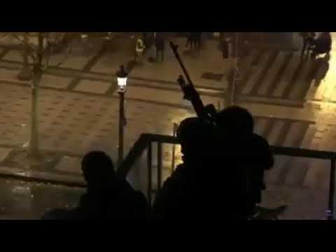French snipers deployed to defend Elysse palace from Yellow vest protesters