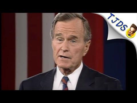 Twitter POUNCES On George H.W. Bush's War Crimes After Death