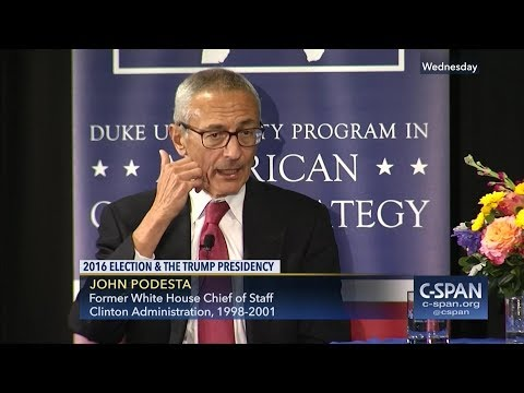 """Flashback: John """"SKIPPY"""" Podesta gets HAMMERED with questions at public forum!! FLIPS OUT and calls it all BULLSHIT and """"debunked""""...."""