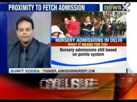 NewsX: No childs play: are the new nursery admission rules fair?