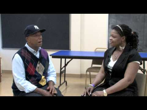 Lady Simone interviews Russell Simmons